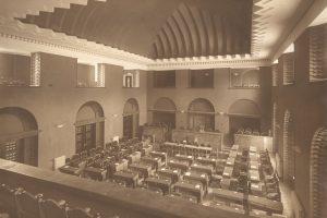 Riigikogu istungisaal aastatel 1923-1940