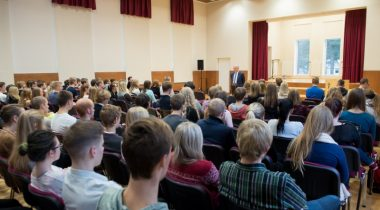 Ученики в Таллиннской Ныммеской гимназии