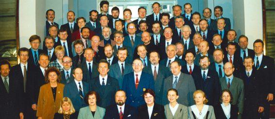 VII Riigikogu koosseisu ühispilt 1. märts 1995