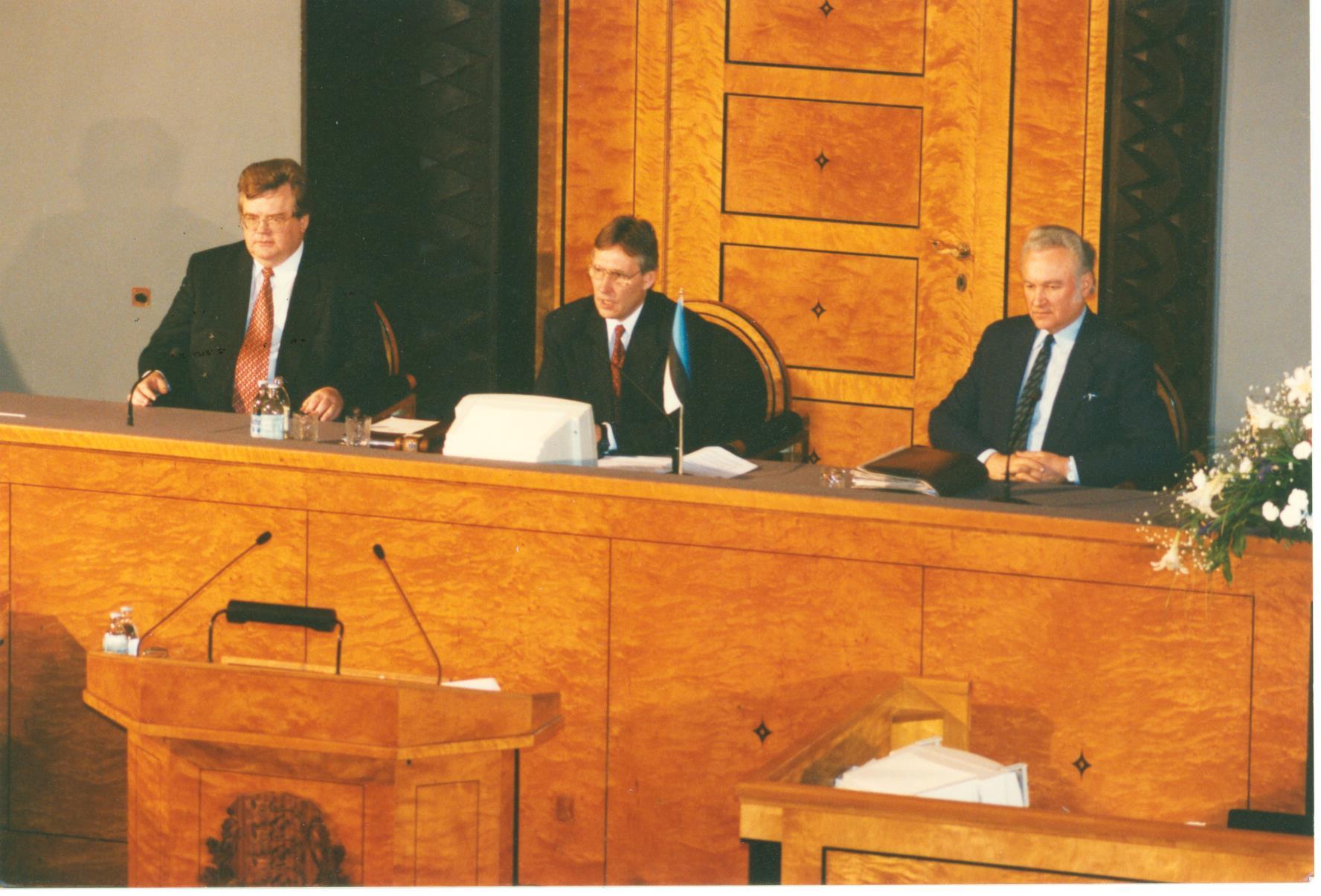 Правление VIII Рийгикогу 21.03.1995