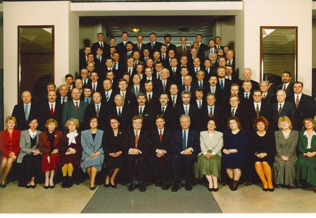 VIII Riigikogu koosseisu avapilt 11. märts 1995