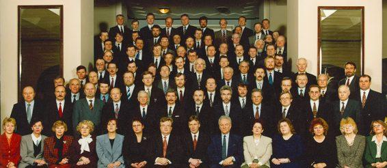 VIII Riigikogu koosseisu ühispilt, 11. märts 1995