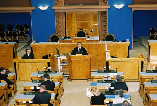 XI Riigikogu avaistung 2. aprillil 2007
