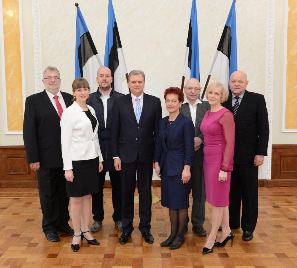 Eesti Vabaerakonna fraktsioon, 30. märts 2015