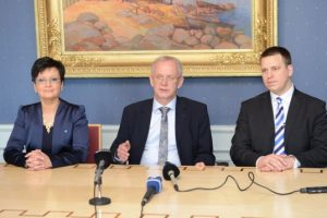 XII Riigikogu juhatus 20. märtsil 2014