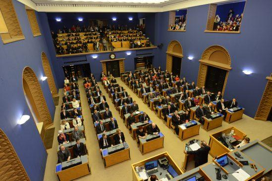 XIII Riigikogu avaistung