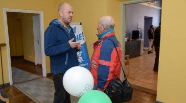 Artut Talvik Riigikogu lahtiste uste päeval 2015