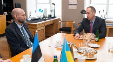 Seeder kohtub Ukraina põllumajandusministriga 14 aprill 2015