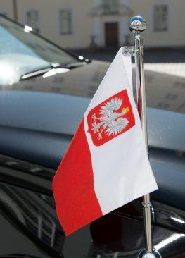 Kohtumine Poola Sejmi marssali Radosław Sikorskiga, Poola lipp