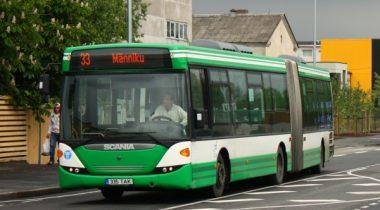 Buss Tallinna liikluses