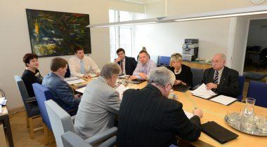 Keskkonnakomisjoni esimehe ja aseesimehe valimised, 2015