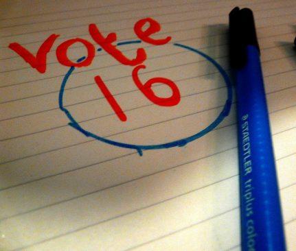 Valimisea langetamine kohaliku omavalitsuse valimistel