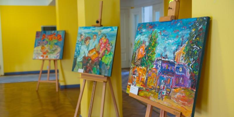 """Andrei Kovalenko maalinäitus """"Värvide muusika"""""""
