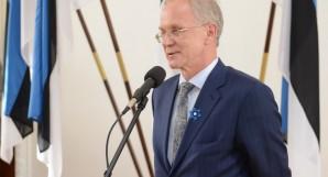President of the Riigikogu (Parliament of Estonia) Eiki Nestor