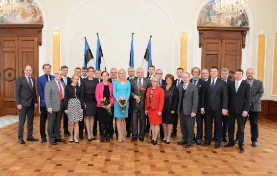 Eesti Keskerakonna fraktsiooni ühispilt, 2015