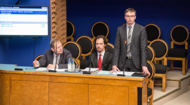 Kaitseminister Sven Mikser infotunnis