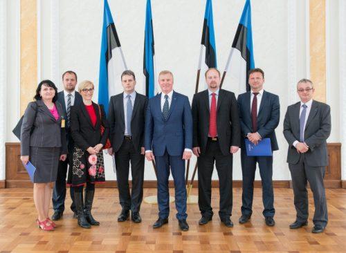 Põhiseaduskomisjoni kohtumine Tšehhi parlamendi liikmetega