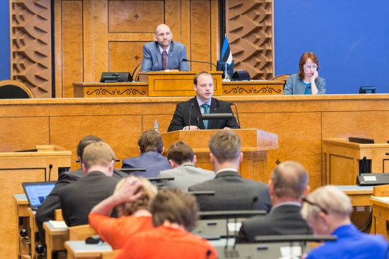 Riigikogu istung 2. juunil 2015
