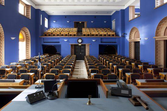 Riigikogu istungisaal, Paul Kuimet
