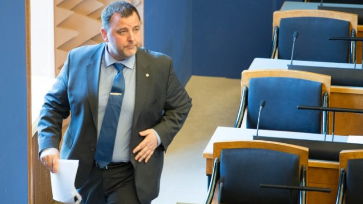 Sven Sester Riigikogus