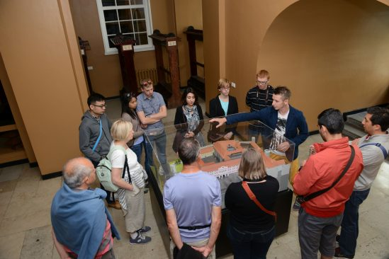 Guided tour at Riigikogu building