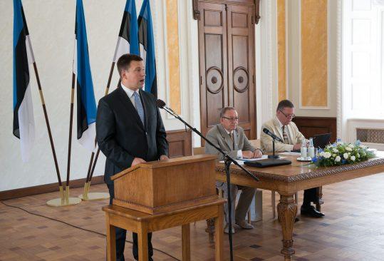 Riigikogu aseesimees Jüri Ratas