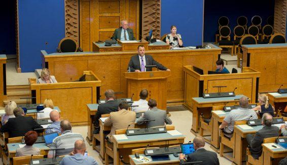 Riigikogu erakorraline istungjärk 18. augustil 2015