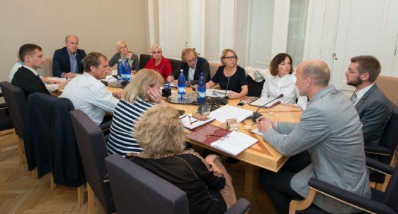 Sotsiaalkomisjoni istung 21. septembril 2015