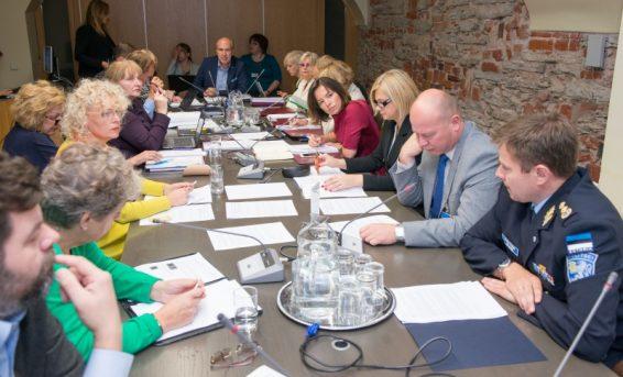 Sotsiaalkomisjoni istung 28. septembril 2015