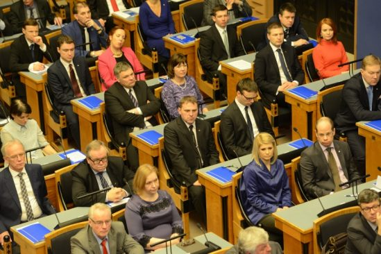 XIII Riigikogu avaistung 30. märtsil 2015