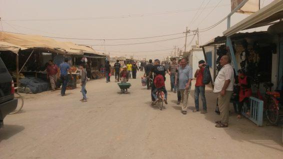 Foto Zaatari pagulaslaagrist