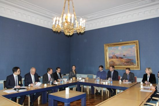 Rahanduskomisjon kohtub IMF-i delegatsiooniga
