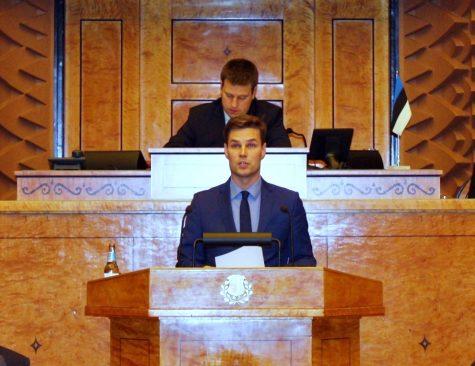Kalle Palling, Riigikogu istung 13. oktoobril 2015