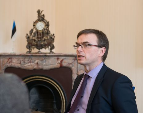 The Chairman of the Foreign Affairs Committee Sven Mikser