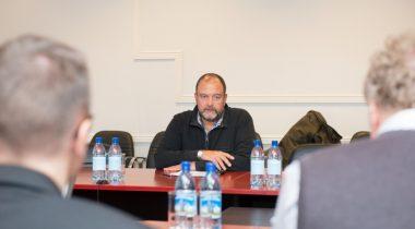 Riigieelarve kontrolli komisjon Maaeluministeeriumis, komisjoni esimees Mihhail Stalnuhhin