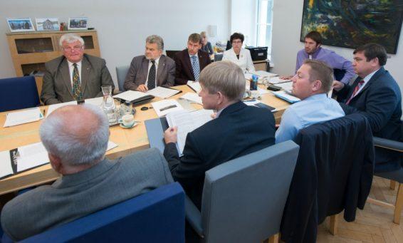 Riigikogu rahanduskomisjoni kohtumine IMF delegatsiooniga