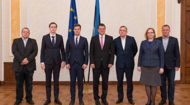 Euroopa Komisjoni asepresidendiga energialiidu alal Maroš Šefčovičiga
