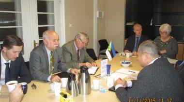 Konservatiivide fraktsioon kohtus välisminister Marina Kaljurannaga