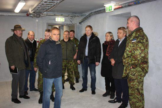 Kaitseliidu uues majas Narvas