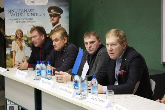 Kohtumine Narva noortega