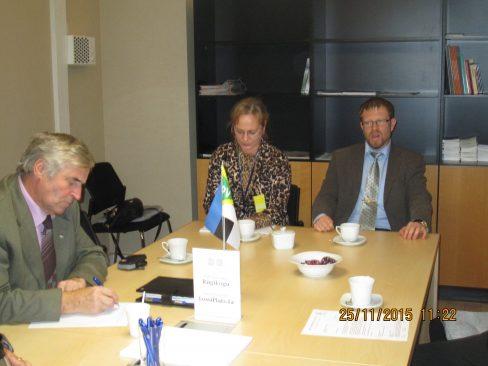 Konservatiivid kohtusid Haridustöötajate Liidu liikmetega