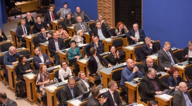 Sitting of the Riigikogu