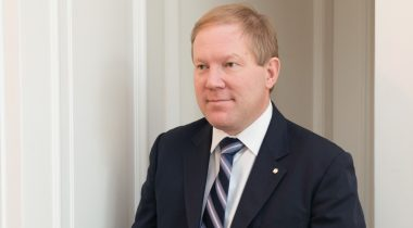 The Chairman of the National Defence Committee Marko Mihkelson