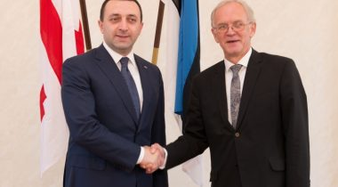 Eiki Nestor ja Irakli Garibashvili