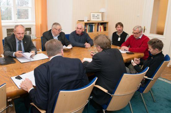 Väliskomisjoni kohtumine Setomaa Valdade Liidu esindajatega