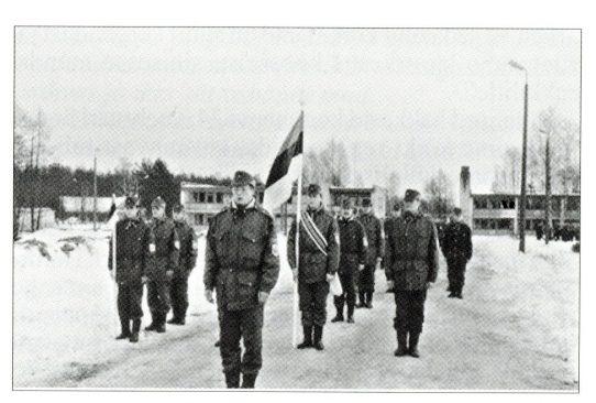 Eesti Vabariigi aastapäeva paraad Remniku Õppekeskuses