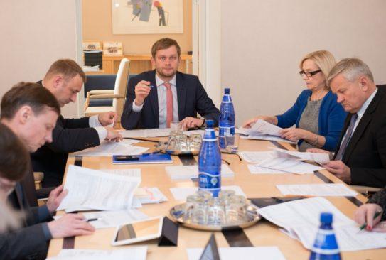 Rahanduskomisjoni kohtumine Teenusmajanduse Kojaga 12.01.16