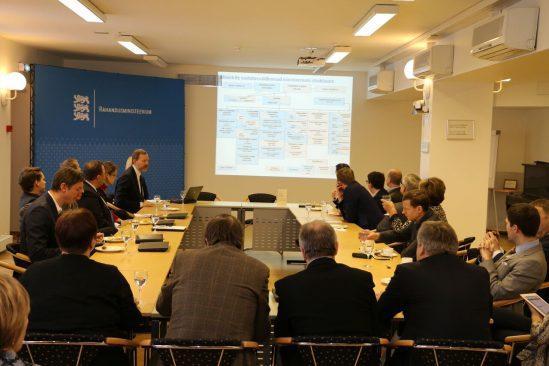 Rahanduskomisjoni kohtumine Rahandusministeeriumiga 19.01.2016