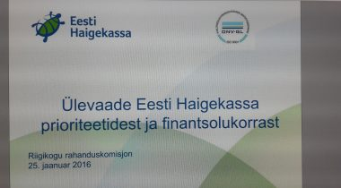 Rahanduskomisjoni kohtumine Haigekassaga 25.01.16