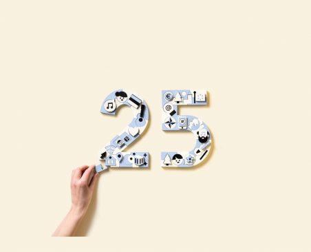25 aastat iseseisvumise taastamisest, sündmuse logo